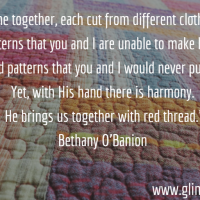 The Red Thread: A Guest Post by Bethany O'Banion