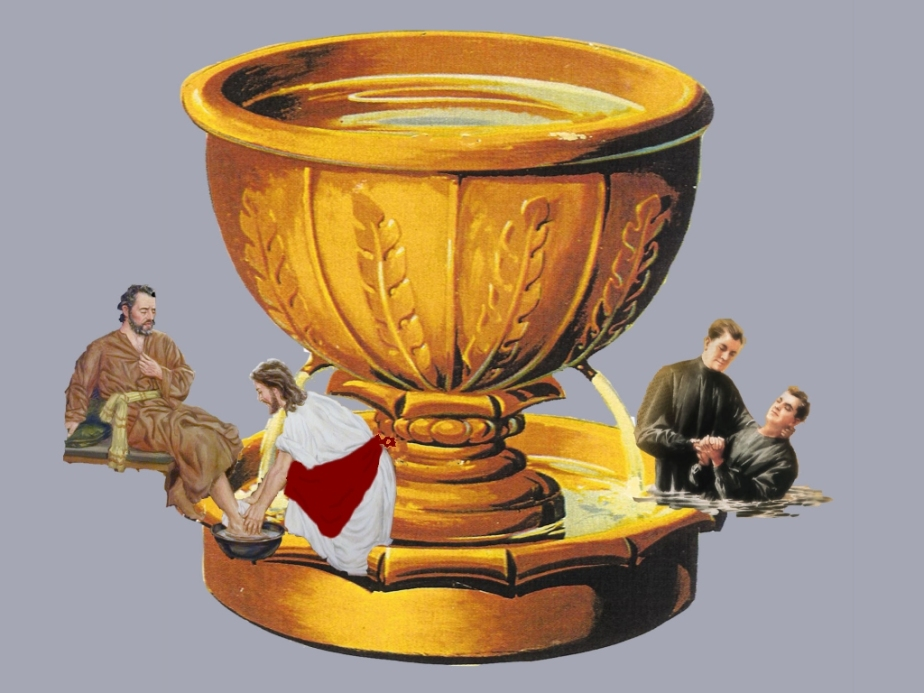 The brass laver for cleansing (Leviticus)