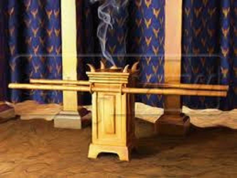 The altar of Incense. (Leviticus)