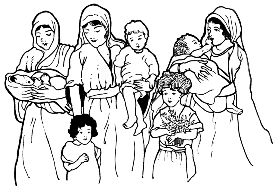 The Mothers in the line of Jesus.