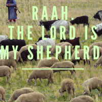 Jehovah Raah...the Lord is my Shepherd.